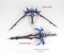 Final Fantasy XIII Serah Farron Bow and Arrow Cosplay Prop shape shiftable