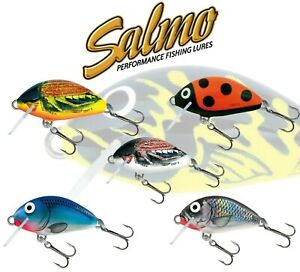 SALMO-TINY-Fishing-Lure-Floating-Sinking-variety-colours-3cm-2g-Chub-Trout-Bait