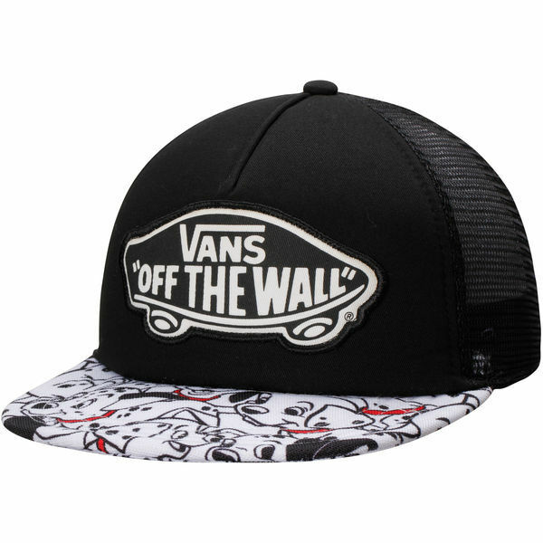 Disney VANS 101 Dalmations Adult Black White Snapback Trucker Hat With Tags  for sale online  ba06213e177