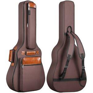 CAHAYA Guitar Bag 40 41 42 Inches 6 Pockets Guitar Case Waterproof Oxford Clo...