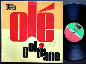 JOHN-COLTRANE-Ole-LP-ATLANTIC-SD-1373-US-1973-JAZZ-Freddie-Hubbard-Eric-Dolphy