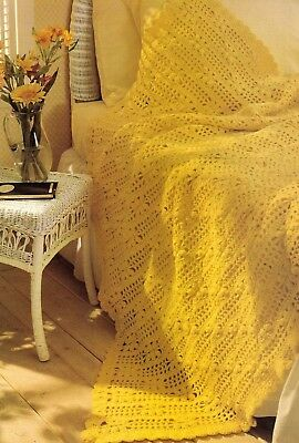 PATRIOTIC Summer Picnic Afghan//CROCHET PATTERN INSTRUCTIONS ONLY