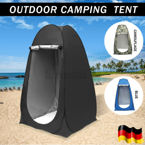 Duschzelt Pop Up Zelt Camping zelt Umziehzelt Faltzelt Outdoor