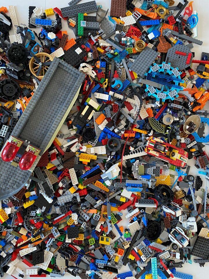 Lego blandet