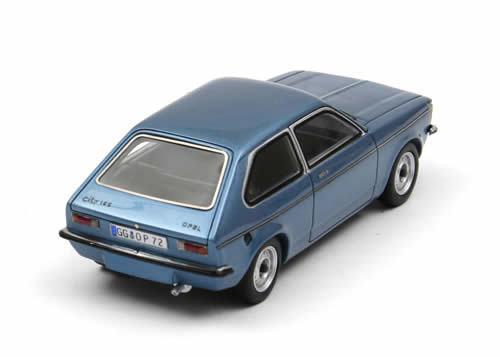 Vuelta de 10 dias Maravilloso modelCoche modelCoche modelCoche Opel Ciudad Kadett 1977-azulmetallic-Escala 1 43  Venta en línea de descuento de fábrica