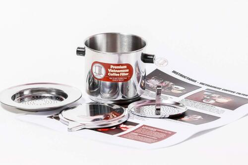 Large Vietnamese Coffee Filter Set known as a Vietnamese Coffee Maker or Press