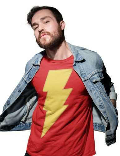 Shazam Comedy Superhero Movie Adults T-Shirt