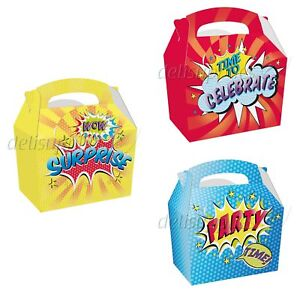Image Is Loading Childrens Kids Surprise Birthday Party Box Bag
