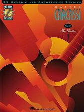 Matteo Carcassi 25 Melodic Progressive Studies Op.60 Guitar Music Book & CD