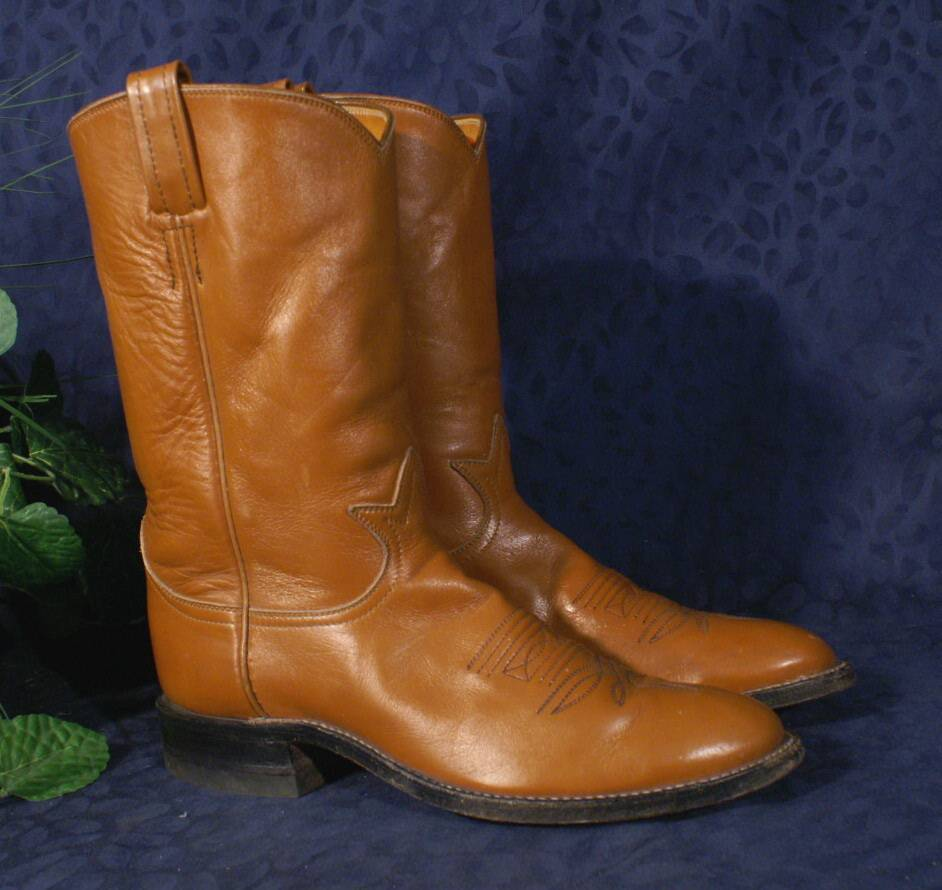 articoli promozionali Vintage Chestnut TONY LAMA Rancher Cowboy stivali stivali stivali Sz 280 or 8B  vendita outlet online