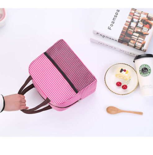 Insulated Lunch Bag Picnic Cool Bag Lunch Box Bag for student office Picnic Tote