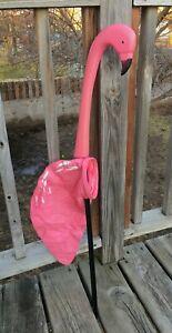 Vintage-Flamingo-Wind-Sock-North-Wind-Decoys-Pink-Decoys-NOS-New-Retro-Fun-USA