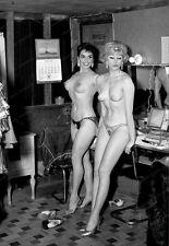 8x10 Print Burlesque Dancers Model Pin Up 1961 Nudes #3536