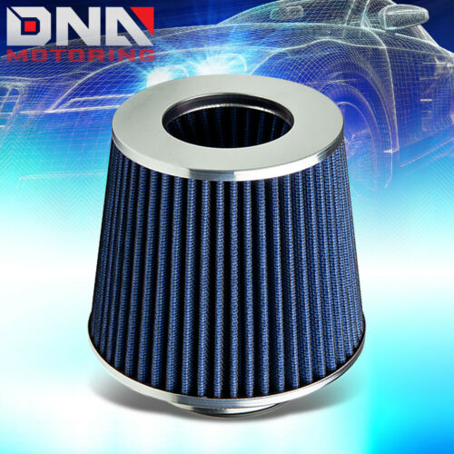 """FOR 07-09 TOYOTA CAMRY 4CYL 2.4L COLD AIR INTAKE KIT+3/""""BLUE TAPER CONE FILTER"""