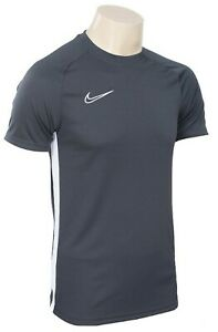 Details about Nike Men DRY Academy 19 SS Tee Shirts Training Black Shirt Jersey AJ9088 010