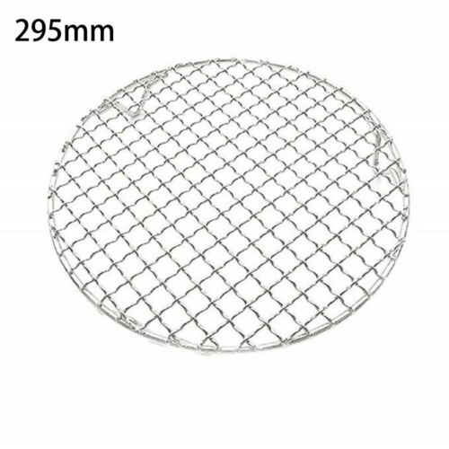 5 Sizes Round Cooling Baking BBQ Rack 304 Stainless Steel Wire Oven Grill Sheet