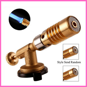 Blowtorch Copper Flame Butane Lighter Heating Welding For Outdoor Camping
