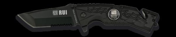 18300 Couteau Pliant Rui Noir. Lame 8.5 Cm Rui K 25