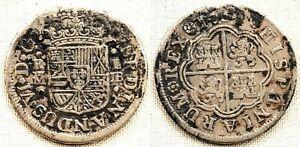 Spain-fernando Vi. 1 Real. 1751. Madrid. Mbc/vf. Plata 2,6 G. Patina Marchandises De Haute Qualité