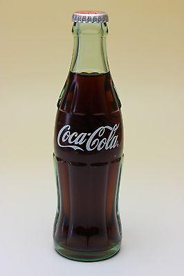 Coca Cola Japan Return for Refund Clear Contour Bottle Coke Unopened Full 190 ml