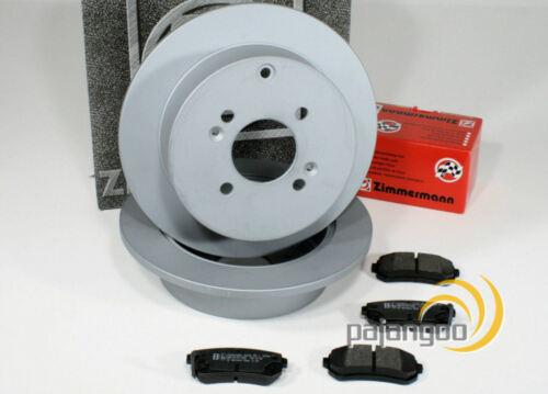 VW Vento Zimmermann Bremsscheiben Bremsbeläge Bremsen für vorne Vorderachse