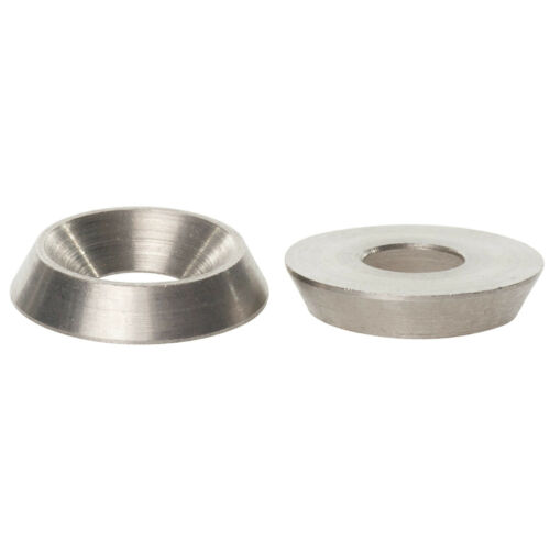 M3 M4 M5 M6 M8 M10 STAINLESS STEEL METRIC SOLID SCREW CUP FINISHING WASHERS