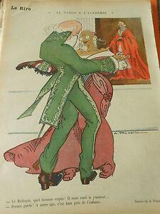 Le-tango-de-l-039-academie-Ce-Richepin-quel-homme-exquis-humour-Print-1913