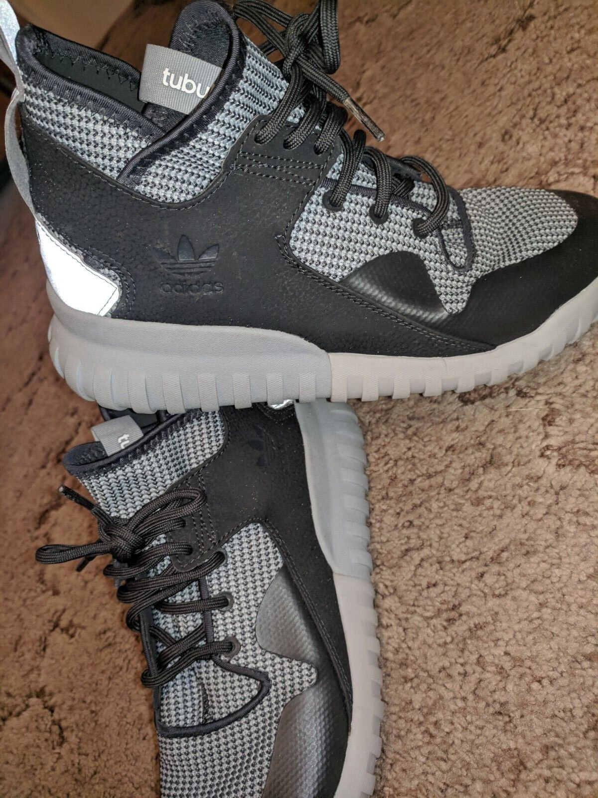 Adidas Tubular X Primeknit Alphabounce Springblade shoes Size 8