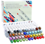 48 Professional Brush Markers Set for Drawing Manga Markers Illustration with