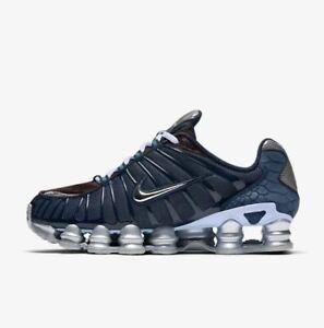 Nike-Shox-TL-034-Ossidiana-CELESTINE-Blu-BU-034-Uomo-Scarpe-da-ginnastica-LIMITED-STOCK-Tutte-le