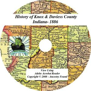 1886-History-of-KNOX-and-DAVIESS-County-Indiana-IN
