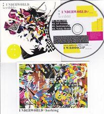 UNDERWORLD SCRIBBLE [NETSKY] 4 TRACK PROMO CD + PROMO POSTCARD