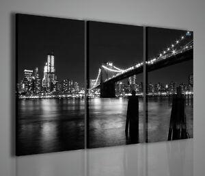 QUADRI MODERNI QUADRO MODERNO  ARREDAMENTO CASA UFFICIO NEW YORK BRIDGE VIII