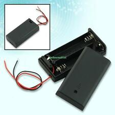New 2 AA 2A Battery Holder Box Case With Switch EE4069 3956166