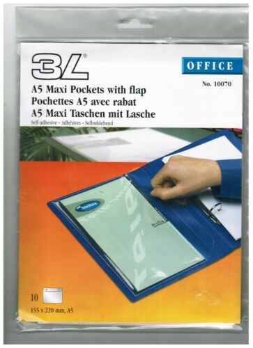Tasche für A5-Mappe*Hülle mit Verschluß Maxitasche für Dokumentenmappe