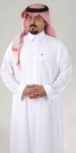 thobe jalabeya Full Embroidered Collar 4 pcs set Saudi Dishdasha men thoub