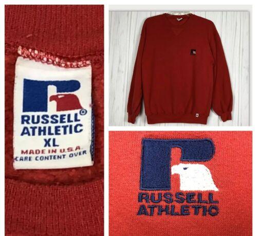 Vintage Sweatshirt top Russell Athletic Single V C