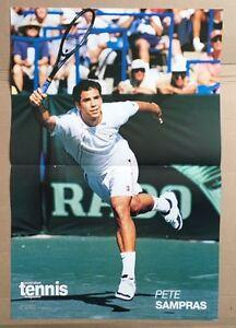 PETE-SAMPRAS-Original-Vintage-Australian-Tennis-Magazine-Poster