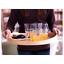 IKEA-Round-Serving-Tray-Food-Breakfast-Kitchen-Coffee-Tea-Table-Handle-Wood-44cm thumbnail 3