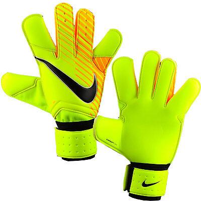 Nike Gk Grip 3 Tw Goalkeeper Football Gloves Gs0342 715 Orange Yellow Ebay