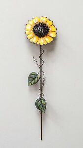 21-034-Metal-Sunflower-Garden-Iron-Yard-Stake-Decor-Outdoor-Art-Lawn-Decoration