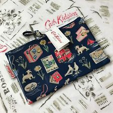 Cath Kidston Billie va en vacaciones Cremallera Bolsa Bolso Maquillaje BAG PENCIL CASE NEW