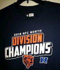 8c8ab782 item 3 MEDIUM 2018 NFC North Division Champions Chicago BEARS Football NFL  T Shirt tee -MEDIUM 2018 NFC North Division Champions Chicago BEARS  Football NFL ...