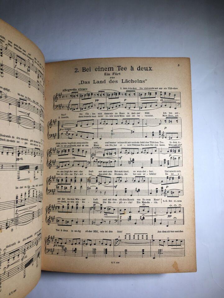 Sange og danse, Lehar-Melodien