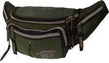 Bauchtasche Doggy Bag Oliv Grün Gürteltasche Hüfttasche Elephant World Tour II