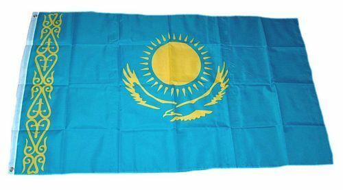 Fahne Kasachstan Hissflagge 60 x 90 cm Flagge