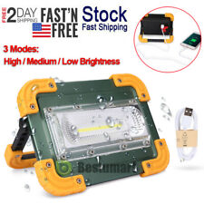 1000000lm Cob Led Work Light Rechargeable Inspection Flashlight Flood Lamp Stand