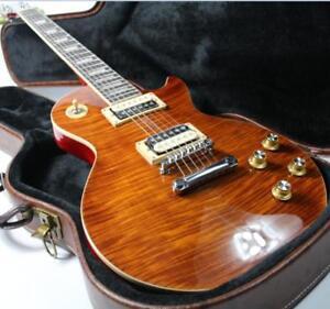 High-Quality-LP-Slash-Electric-Guitar-One-Piece-Mahogany-Body-amp-Neck-Figured-Maple