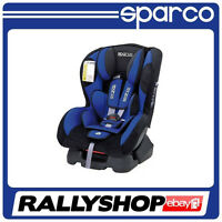 Sparco F500 K Blue 0-18 Kg Child Seat Cheap Delivery Ece Homologation Safety