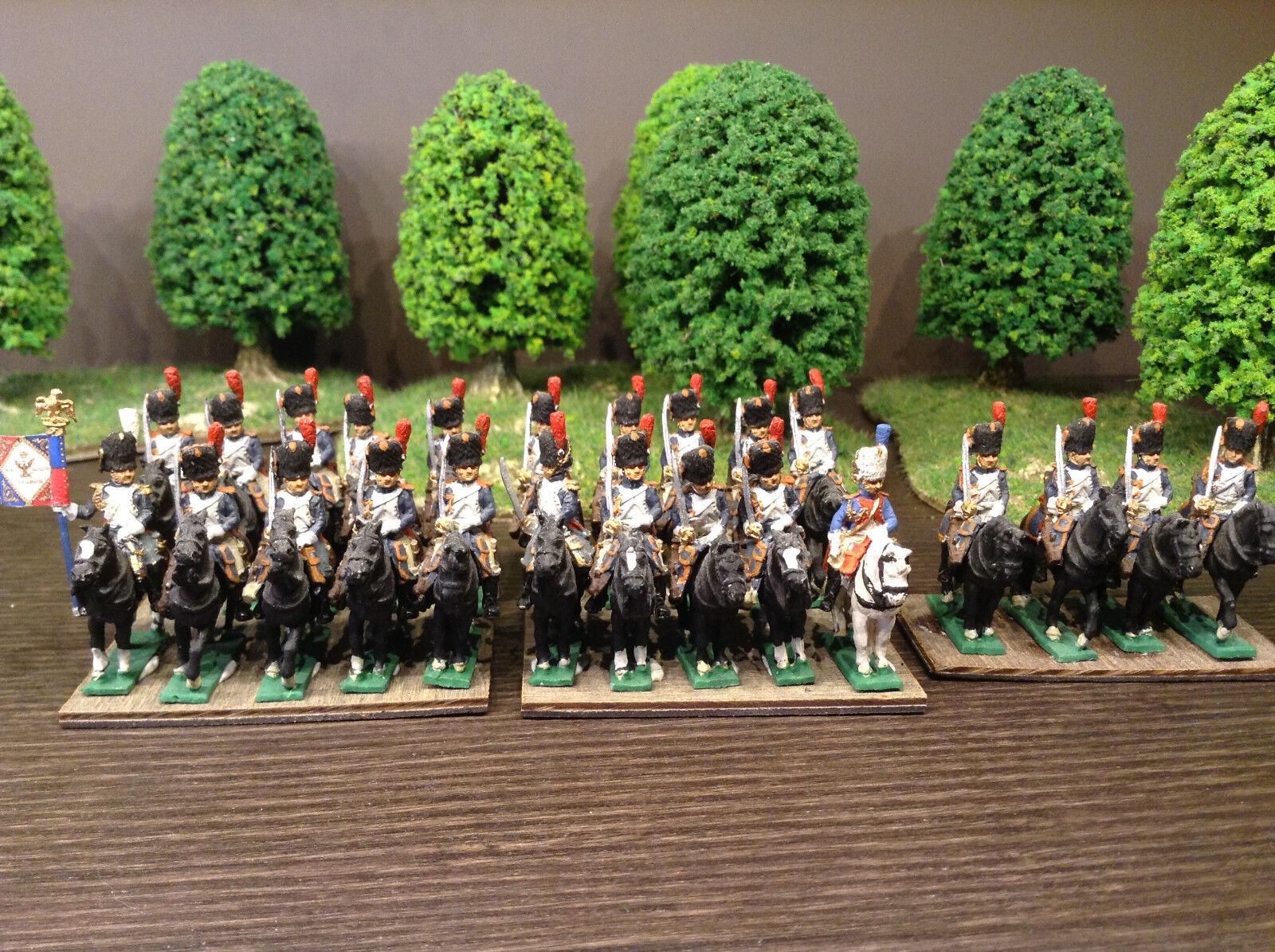 Greandiers à cheval français napoleon AB Figures 15mm peint napoleon français 1er empire 536001